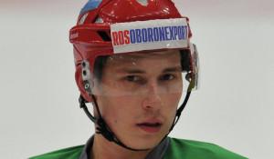 У хоккеиста сборной России диагностирован двойной перелом лицевой кости